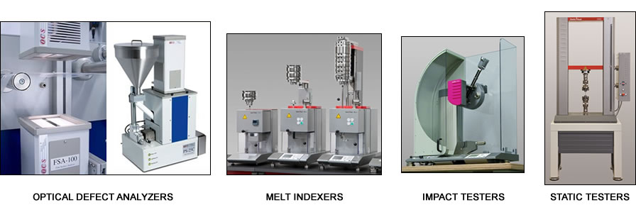 Southern Analytical Optical Defect Analyzers, Melt Indexers, Impact Testers, and Static Testers